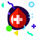 adaptive, blood, ios, isolated, lifestyle, material design icon