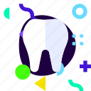 adaptive, ios, isolated, lifestyle, material design, tooth icon
