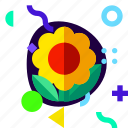 adaptive, flower, ios, isolated, lifestyle, material design icon