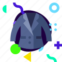 lifestyle, material design, ios, isolated, men suit, adaptive icon