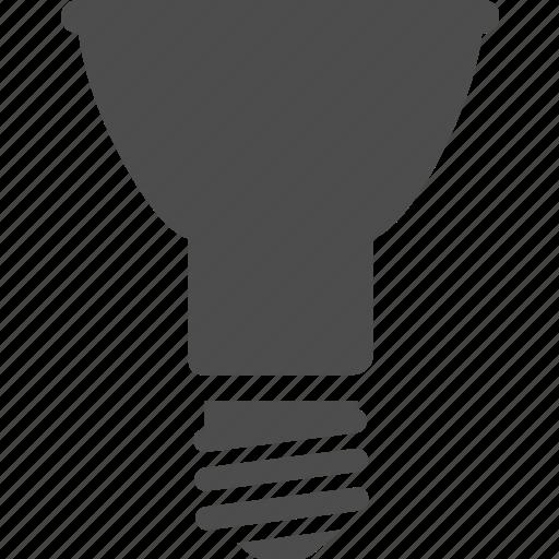 bulb, fluorescent, led, light, par16 icon