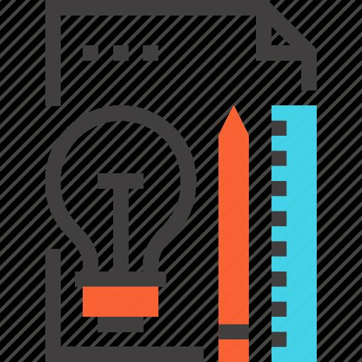 Bulb, design, idea, imagination, inspiration, light, plan icon - Download on Iconfinder
