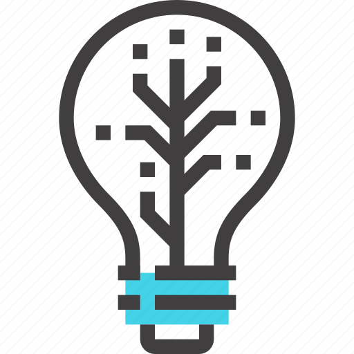 bulb, idea, imagination, innovation, inspiration, light, technology icon