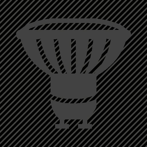 bulb, halogen, lamp, light, lightbulb icon