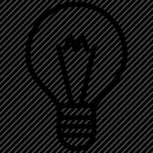 bright, bulb, idea, lamp, light, lightbulb, off, on, shine icon