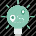 bulb, electricity, idea, invention, light, plan, technology