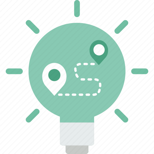 bulb, electricity, idea, invention, light, plan, technology icon