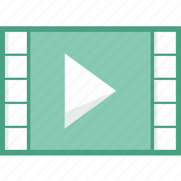 interface, movie, multimedia, option, player, video icon
