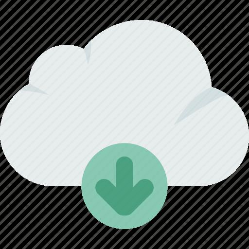 download, electronics, file, storage, technology icon