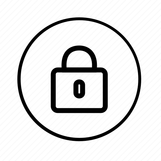 authentication, locked, password, private, protect, safe, security icon
