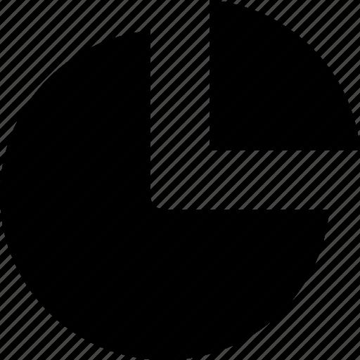 analytics, chart, diagram, graph, pie, report, sales, statistics icon