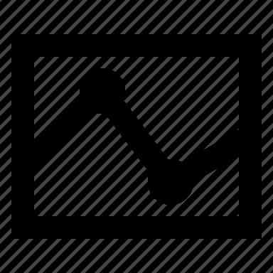 activity, statistics icon