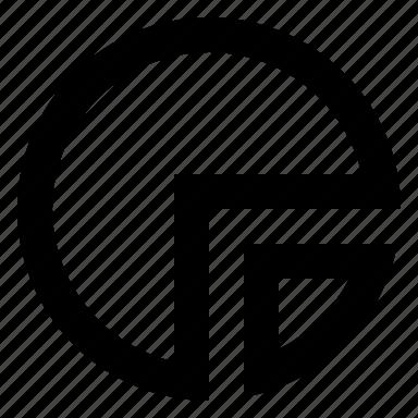 chart, diagram, pie, report icon