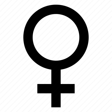 female, gender, girl, lady, symbol, woman icon