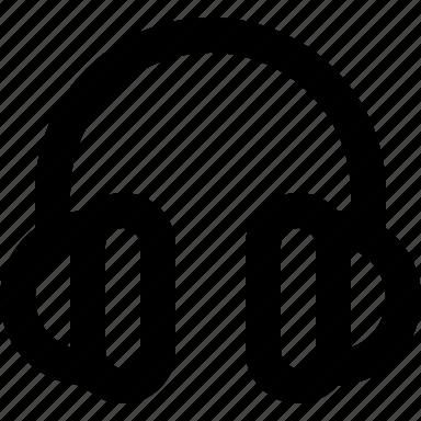 audio, headphones, listen, music icon