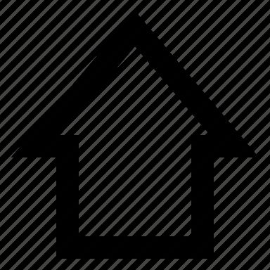 arrow, shift icon