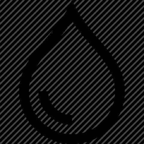 drop, rain, tear, water icon