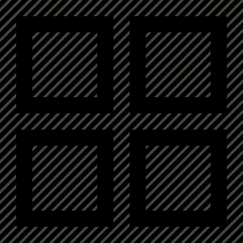 arrange, grid, layout icon