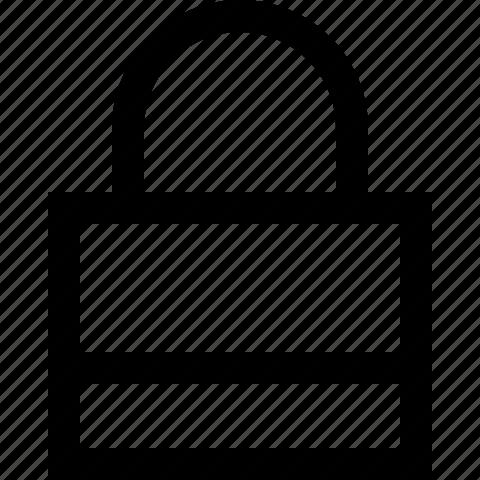 lock, locked, password, secure, security icon