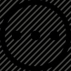 circle, more icon