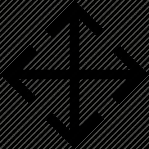 arrow, direction, move icon