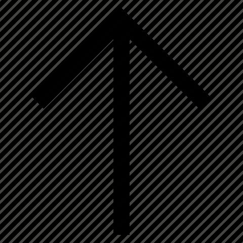 arrow, direction, move, previous, up icon