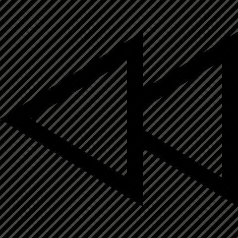 Back, control, left, rewind icon - Download on Iconfinder