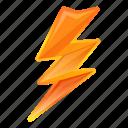 bolt, bright, computer, lightning