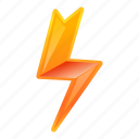 arrow, bolt, internet, lightning, small