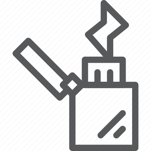 cigarette, fire, flame, lighter, smoking, warmth icon