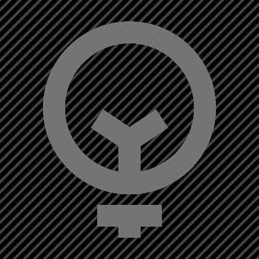 bulb, electricity, energy, idea, light, power icon