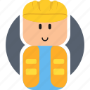 builder, flat icon, job, lego, people, profession, work icon
