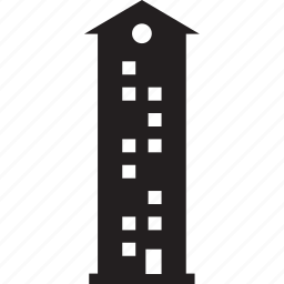 building, business, office, tower icon