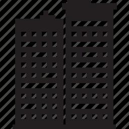 building, office, skyscraper, tower icon