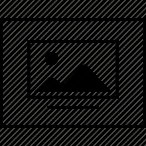 image, layout, sitemap, ui, wireframe icon
