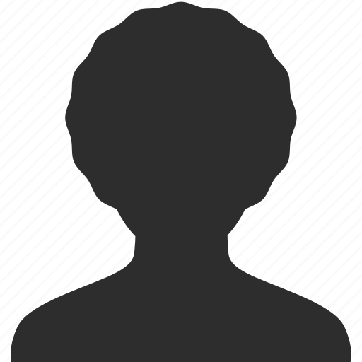 face, female, head, person, profile, silhouette, user, woman icon