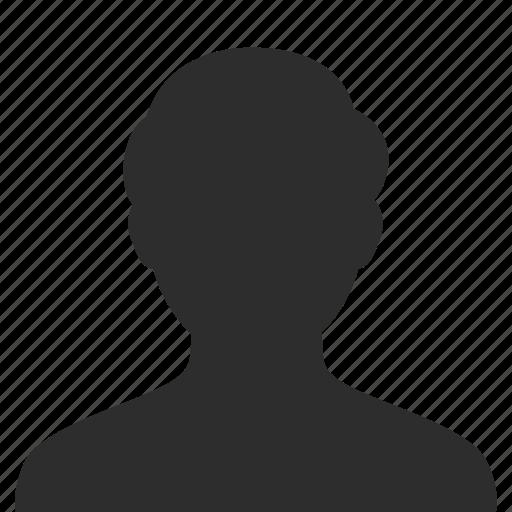 face, head, male, man, person, profile, silhouette, user icon