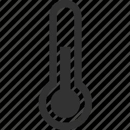 heat, temperature, thermometer, warm icon