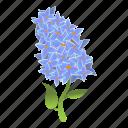 floral, flower, frame, lilac, nature, wedding