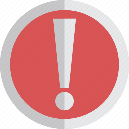 alert, attention, care, error, exclamation, warning icon