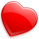 bookmark, favourite, glossy, heart, love icon