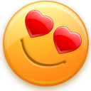 love, smiley, valentine's day icon