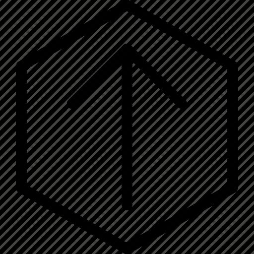 arrow, arrows, direction, navigation, orientation, upload icon