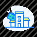 bank, dolar, finance, money, office icon