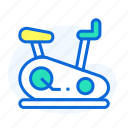 bike, exercise, exercise machine, machines, sport icon