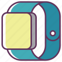 apple, apple watch, clock, device, iwatch, smartphone, watch icon