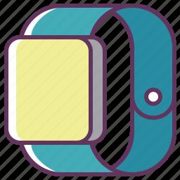 apple, apple watch, clock, device, iwatch, smartphone, watch icon