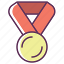 achievement, award, awards, best, laurel, medal, winner icon