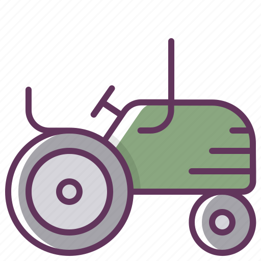 agriculture, farming, leaf, nature, tractor icon