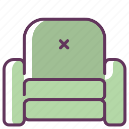 armchair, chair, house, interior, living, room, sofa icon